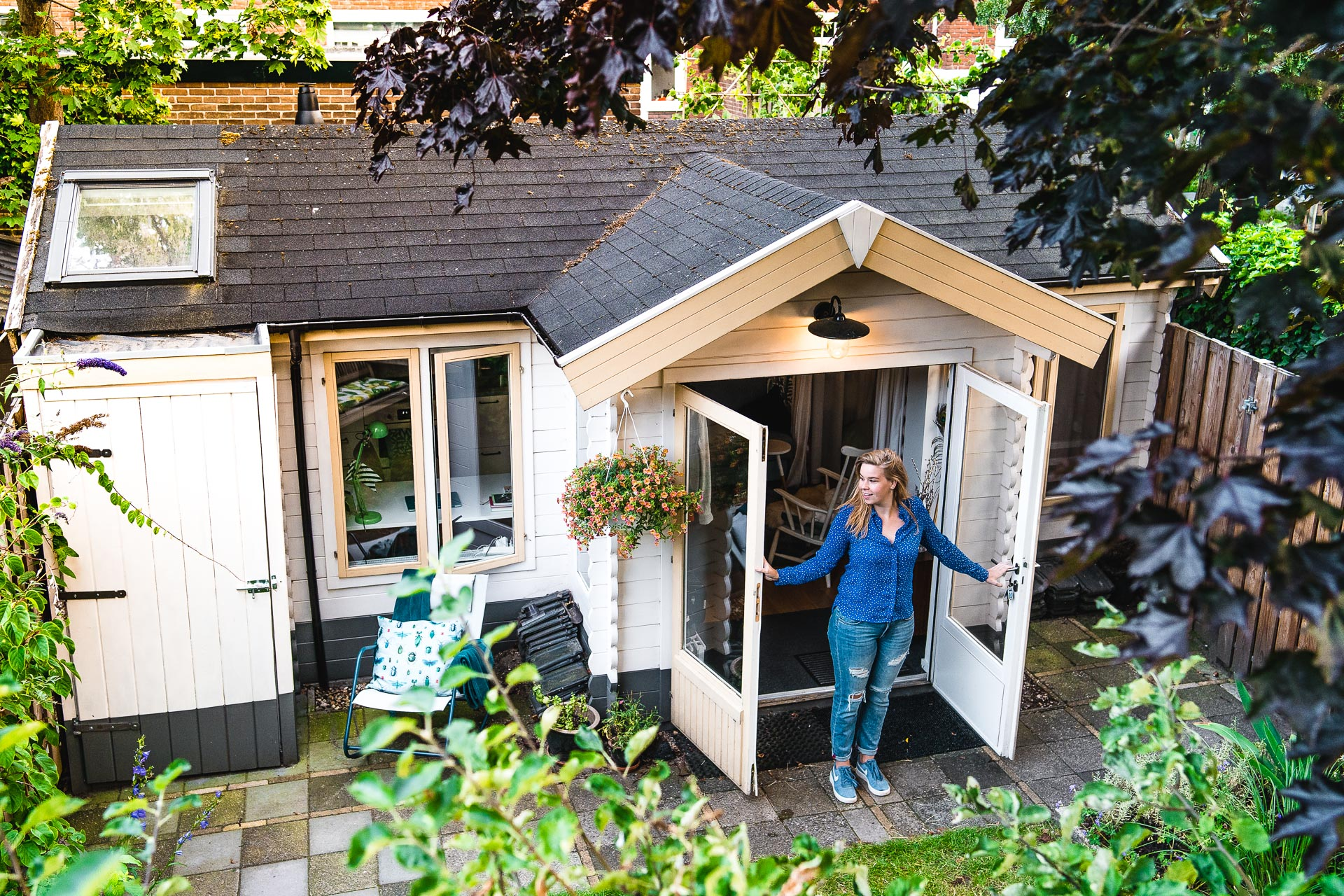 Tiny House Fotoshoot Joanne
