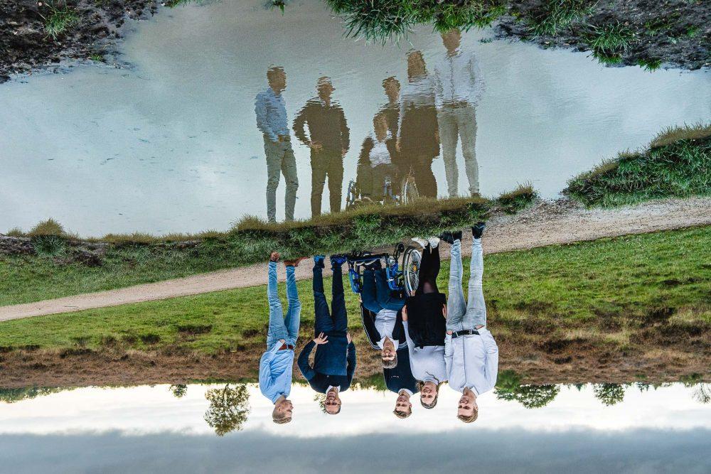 Familieshoot op de heide van Hilversum
