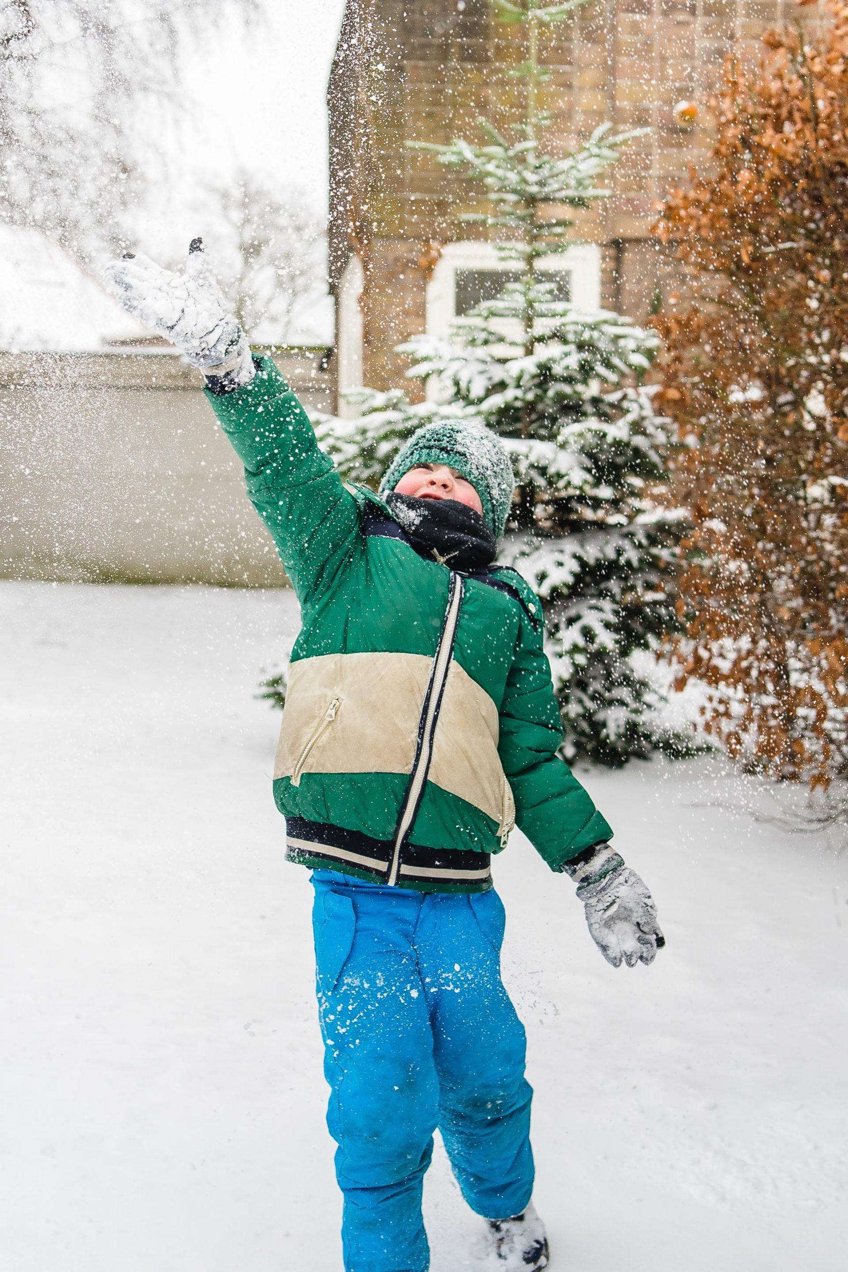 Shoot in de sneeuw